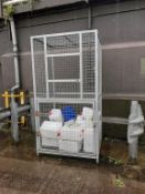 2 x chemical bund spill pallets 1.5m x 1m approx;
