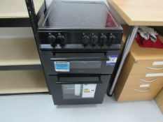 Belling FS50EDOC Black Double Oven