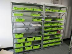 2 Bays GS Steel Multi-Tier Shelving