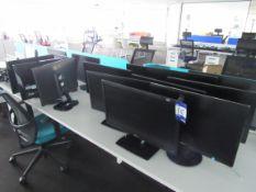 19 Assorted Monitors