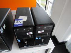 2 Zoostorm Tower PC Units
