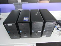 4 Zoostorm Tower PC Units