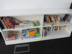Quantity Assorted Books and Games