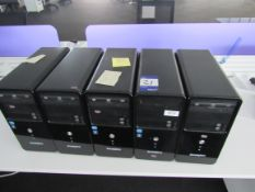 5 Zoostorm Tower PC Units