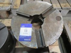 Unbadged engineers three jaw chuck
