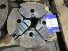 Unbadged engineers four jaw chuck