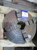 Pratt Burnerd four jaw chuck