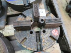 Cushman Chucks four jaw chuck