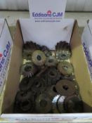Box of milling cutters