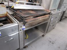 Large Clay Oven, Char Grill, gas