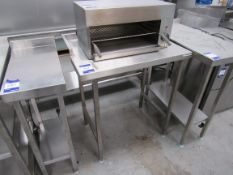 Stainless Steel Bench, 800 x 600