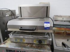 Roller Grill Electric Bench Top Grill