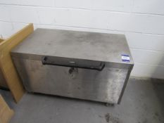 Stainless Steel Mobile Chest