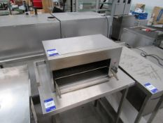 Stainless Steel Grill with fat drainer