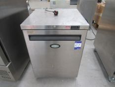 Foster HR150-A Stainless Steel Fridge Serial Numbe