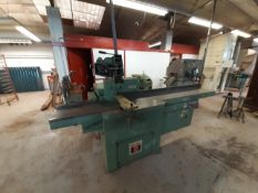 Wadkin Par Planer Thicknesser 2000mm Infeed Table