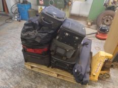 Pallet to contain qty of travel bags