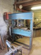 Manley heavy duty hydraulic vertical workshop press