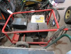 A 240V/110V Honda powered Harrington generator
