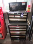 A Clarke HD Plus tool cabinet to include Elora, Facom, Gedore, Britool, Tools etc.