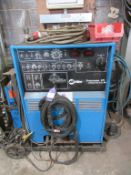 A Miller Syncrowave 375 constant current ARC welding power source AC/DC source