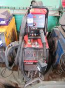 A Lincoln Electric Powertec 425S welder complete with LF24M wire feed