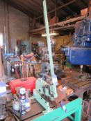 Atlas BS406 bench shear and a mitre shear
