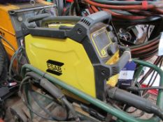 An ESAB 215ic welder on trolley