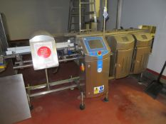 Loma CW3 Combination Metal Detector and Check weigher