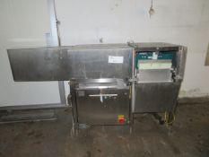 Arcall SS Ram driven cheese cutter