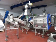 Starch vibrator feed unit by Pneumetic Conveying Systems