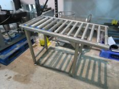 Soco T-10. Top and Bottom Case taper with gravity feed conveyor