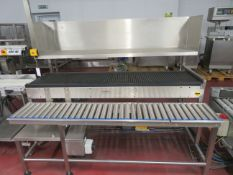 Shuttleworth slip Torque conveyor and Packaging station.