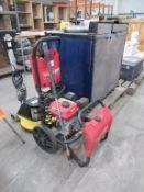 Workzone Titinium + Petrol driven Mobile Pressure Washer