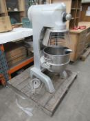FM40 mixer s/n 08060225 YOM 2008 with bowl and whi