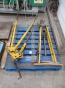 2x Pipe Clamps