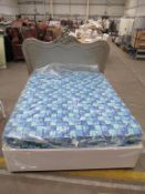 King Size Divan Bed with Matress and Headboard