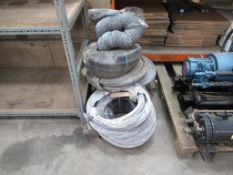 Qty of chute pipe/tunnelling