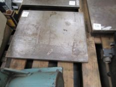 A Machine Table 455mm x 380mm