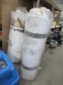 2 x rolls of laminate/carpet underlay