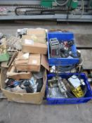 A Pallet to contain various Electricial Items etc