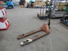 """A Boss Pallet truck """"spares/repairs"""""""