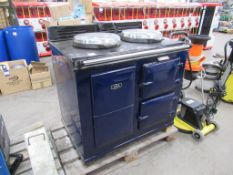 AGA vintage style electric cooker