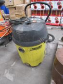 Karcher NT 65/2 ECO 240v Industrial Vacuum and Hoover Aquamaster vacuum cleaner