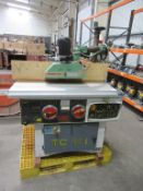Spindle Moulder and Power Feed Roller .