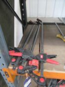 x5 Kennedy One handed Quick Action Bar Clamps