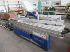 Felder 4 Kappa X-motion sliding panel saw, S/N 6110035.08, Yom- 2008 400v