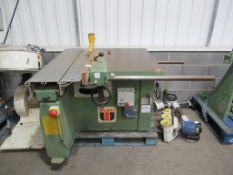 Wadkin CP12 Serial No 8951 Panel Saw 3 phase