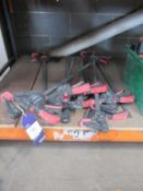 """x9 Kennedy 24"""" - 500mm Quick Ratcheting Bar Clamps"""