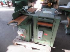 Mutico surfacer and thicknesser (both 3ph)